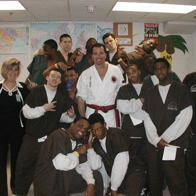 Youth Leadership program at Detention center