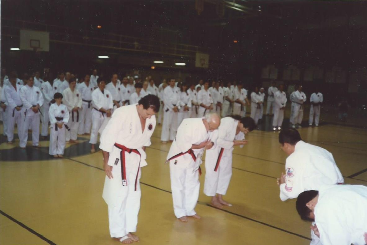 Rank promotion (5th degree BB) - 1997