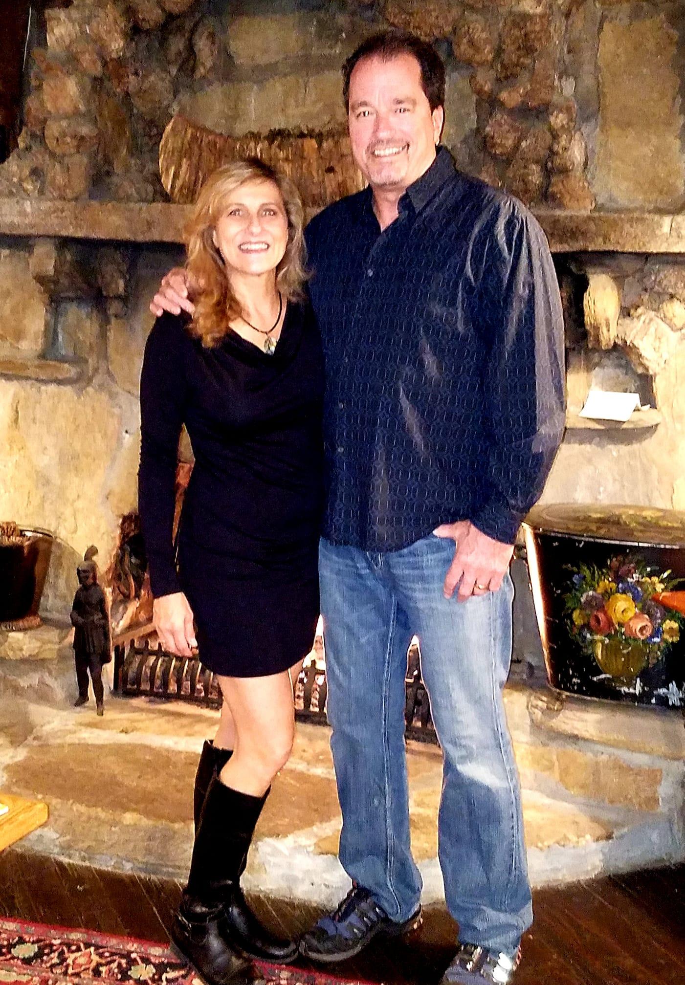 Kirk and Linda at Lake Rabun Hotel