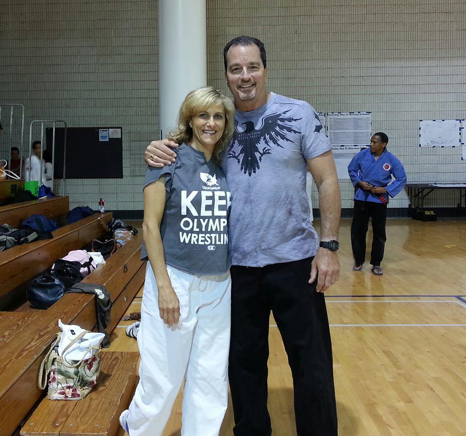 Linda and Kirk
