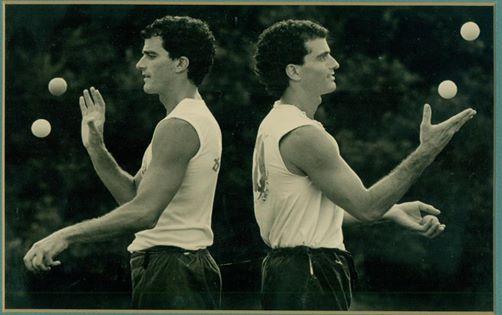 Twin Juggling